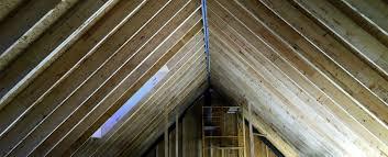 100 House Trusses Roofs Ecocor PreFab Passive