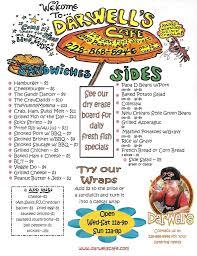 The Shed Gulfport Ms Menu by Darwell U0027s Cafe Long Beach Mississippi Menu2 Sandwiches