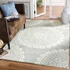 Bella Rug by Safavieh Handmade Bella Grey Ivory Wool Rug 6 U0027 X 9 U0027 Free