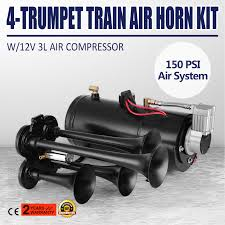 Train Air Horn Kit W/12V 150PSI Air Compressor Huge Sound System ... Trust The Air Suspension Ride Pros Find Exclusive Deals On Hot Rod Kleinn Harleydavidson Horn Systems Hogkit1 Free Shipping Pro Blaster Triple Train Kit Buff Truck Outfitters Cavalry Charge Musical Tune 12 Volt Stebel Italian Cheap Find Deals Line At Alibacom 100w 12v Car Alarm Police Fire Loud Speaker Pa Siren Mic Heavy Duty And Compressor Aw Direct Denali Soundbomb Split Dualtone Motorcycle Kits Texas Horns By Model Hk1 Dual 6 Liter Tank 4trumpet 8milelake 150db Super Trumpet