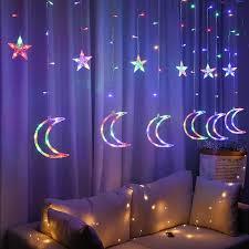 ramadan led glühbirne string licht dekoration vorhang licht hochzeit neon