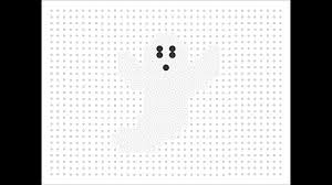 Halloween Hama Bead Patterns by Hama Bead Ghost Halloween Series 7 Youtube