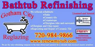 Bathtub Refinishing Denver Co by Gotham City Reglazing Home Facebook