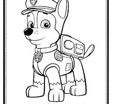 Paw Patrol Coloring Pages S Printable Free Halloween Page