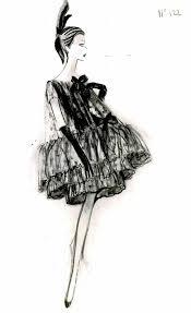 Pinterest Adelineleeuw Illustrations Vintage Chanel Fashion Sketches Rene Bouche