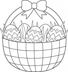 Free Clip Art Easter Egg Coloring Pages