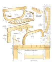 outdoor loveseat woodworking plans woodshop plans