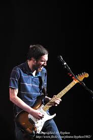 John Frusciante With His Fender Stratocaster