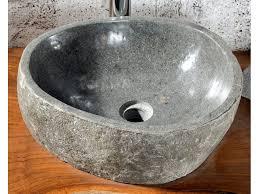 2 naturstein waschbecken aus versteinertem holz 43x37xh15 badmöbel kollektion