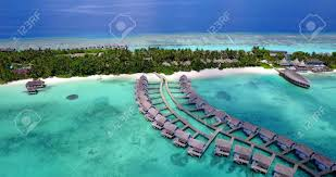 100 Five Star Resorts In Maldives V09465 Five 5 Star Resort Water Bungalows In With Drone