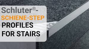 Schluter Tile Trim Uk by How To Install Tile Edge Trim On Stairs Schluter Schiene Step