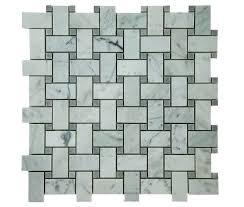 bianco carrara marble mosaic tiles marble tile depot