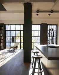New York Alcove Studio Loft apartment living room NY