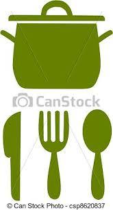 symbole cuisine simple symbole cuisine symboles simple illustration