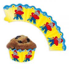 benjamin blümchen muffin banderolen 12 muffinbänder papier