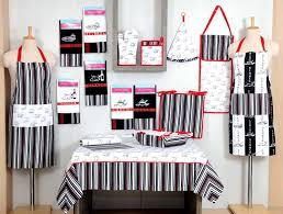 ensemble cuisine 12 pièces nappe rectangle