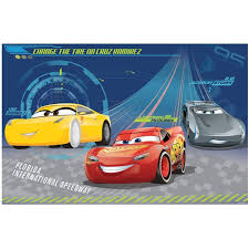 Cars 3 A4 Cake Image Disney Cars 3 Party Supplies