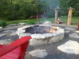 DIY Fire Pit...used Flat Rocks And Square Brick We Already Had In ... Fire Up Your Fall How To Build A Pit In Yard Rivers Ground Ideas Hgtv Creatively Luxurious Diy Project Here To Enhance Best Of Dig A Backyard Architecturenice Building Stacked Stone The Village Howtos Make Own In 4 Easy Steps Beautiful Mess Pits 6 Digging Excavator Awesome