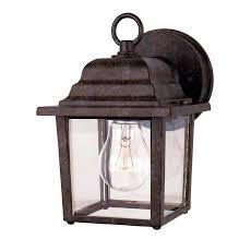 brilliant this hton bay brushed nickel outdoor cottage lantern