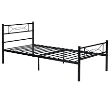 Bed Frames In Walmart by Metal Platform Bed Frame And Headboard Twin Full Size Walmart Com