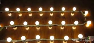 Led 3m 18bulbs Dc 24v Low Voltage String Lights Marquee Outdoor