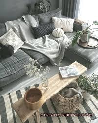 deko wohnzimmer grau weiße wand weiss deko grau mur