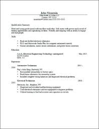 Career Resume Examples Download Electrical Engineering Tech Change Profile