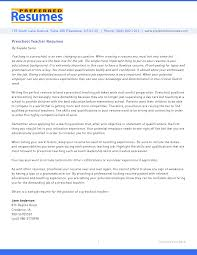 resume description of preschool preschool resume berathen