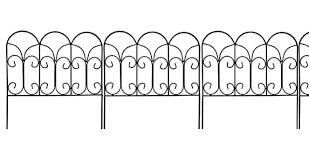 Decorative Garden Fence Panels by Metal Garden Borders Fabulous Garden Border Fence With Metal
