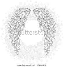 Pattern For Coloring Book Ethnic Patterned Vector Illustration African Indian