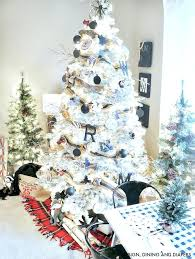 Black Christmas Tree Decorations Lovely Decorating Ideas Unique White Xmas Decoration
