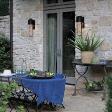 hinkley lighting shelter outdoor wall sconce by lumens dwell