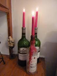 Wine Bottle Cork Holder Wall Decor by 15 Wine Bottle Candle Holder Ideas Guide Patterns