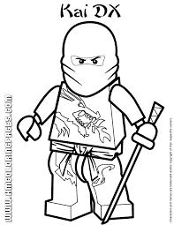 Ninjago Masters Of Spinjitzu Kai DX Coloring Page