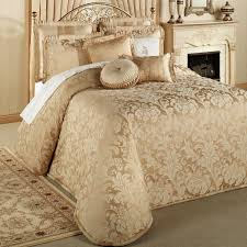 Gold Bedding Car Interior Design What Is The Oversized King