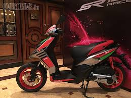 2017 Aprilia SR150 Race Scooter Launched In India At Rs 70288