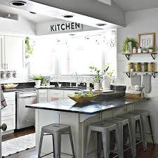 White Kitchen Pink Decor