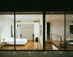 terrasse mit bodenstrahlern und blick bild kaufen