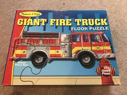 100 Melissa And Doug Fire Truck Puzzle Find More Euc For Sale At Up To