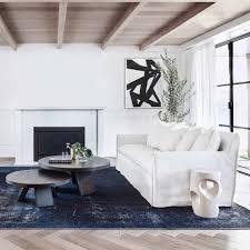 100 Coco Republic Interior Design Vintage Overdye Rug Navy Blue Pertaining To Rugs