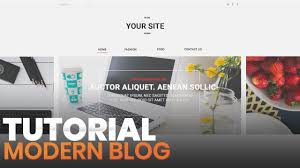100 Modern Design Blog Photoshop Web Tutorial Header And Banner Part 1