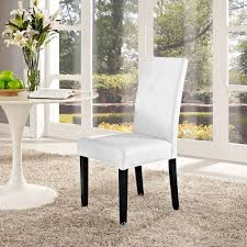 Wayfair Dining Room Side Chairs by Modway Confer Dining Vinyl Side Chair Multiple Colors Walmart Com