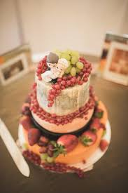 Rustic Cheese Wheel Wedding Cake Berries Ireland 2