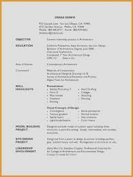 No Experience Resume Template Elegant Examples