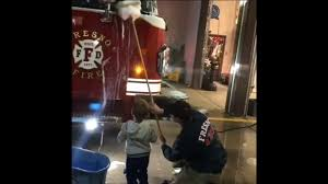 100 Toddler Fire Truck Videos VIDEO Fighting Toddler Helps Fresno Crews Clean Fire Engine