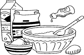 632x418 Gallery For gt Bake Sale Clipart Black and White