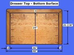 Free Solid Wood Dresser Plans by Free Dresser Plans How To Build A Chest Of Drawers Cabinets
