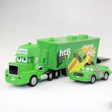 Green Pixar Cars 2 Toys Diecast Metal MACK Hauler MACK TRUCK + Chick ... Disney Pixar Cars Mack Truck Carrier Hauler 18 Storage Carrying Mack Truck In Trouble With Train Cars For Kids Disneypixar Playset Walmartcom 3 Big 24 Diecasts Tomica Lightning Mcqueen Tomica Rescuego Takara Tomy Disneypixcars Amazoncom Large Scale Toys Blackgold Scale Memorial Cecil Spurlocks Son And Familys Trailer Jada Diecast 124 Cstruction Videos For Mcqueen Garage