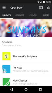 App Open Door Fellowship Church