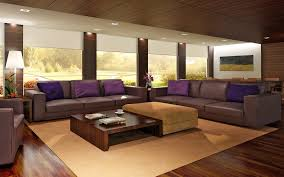 Grey And Purple Living Room Ideas by Modern Brown Living Room Zamp Co